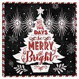 Master Piece Christmas Past Tree Canvas Wall Art