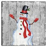 Master Piece Stitched Christmas II Paul Brent Canvas Wall Art