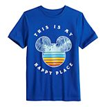 "Disney's Mickey Mouse Toddler Boy ""Happy Place"" Graphic Tee by Family Fun?"