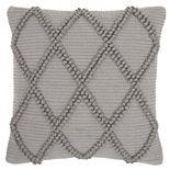 Mina Victory Life Styles Diamond Lattice Throw Pillow