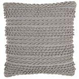 Mina Victory Life Styles Woven Stripes Throw Pillow