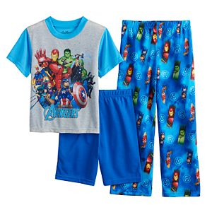 Boys 4-10 Marvel Avengers 3-Piece Pajama Set