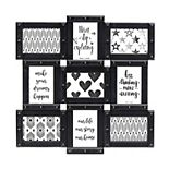 "Melannco 9-Opening 4"" x 6"" Collage Frame"