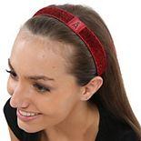 Los Angeles Angels Women's Glitter Elastic Headband
