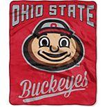 """The Northwest Company Ohio State Buckeyes 50"""" x 60"""" Alumni Raschel Throw Blanket"""
