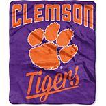 "The Northwest Company Clemson Tigers 50"" x 60"" Alumni Raschel Throw Blanket"