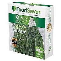 FoodSaver 8 in Heat-Seal Rolls - 3-pk.