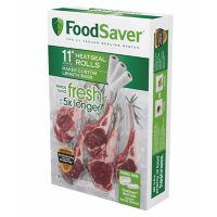 FoodSaver 11-in. Heat-Seal Rolls - 3-pk.