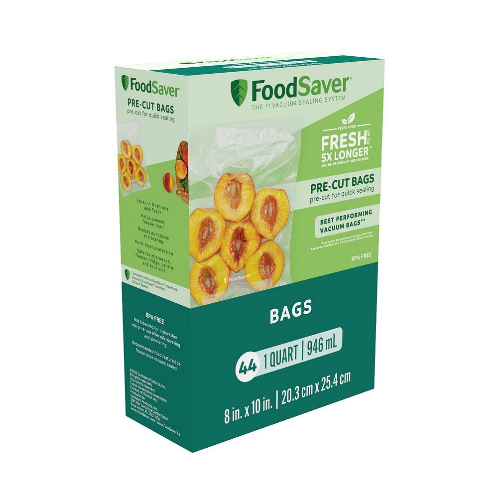 FoodSaver 1-qt. Vacuum Seal Bags - 44-count