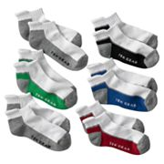 Tek Gear 6-pk. Striped Low-Cut Socks - Boys 6-11