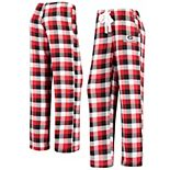 Women's Concepts Sport Red/Black Georgia Bulldogs Breakout Flannel Pants