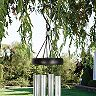 Carson Cardinal Stained Glass Hanging Wind Chime