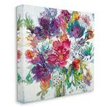 Stupell Home Decor Floral Pop Bouquet Canvas Wall Art