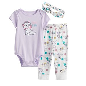 Disney's Aristocats Marie Baby Girl Bodysuit & Pants Set by Jumping Beans®