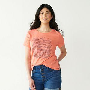 Women's Nine West Short Sleeve Graphic Tee