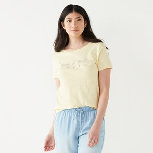 Women's Nine West Short Sleeve Graphic Tee