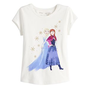 Disney's Frozen Elsa & Anna Toddler Girl Shirttail-Hem Tee by Jumping Beans®