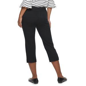 Women's Croft & Barrow® Effortless Stretch Capris