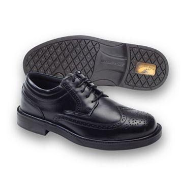 Deer Stags Tribune Men's Wing-Tip Dress Shoes