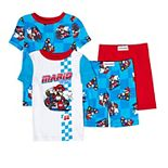 Boys 4-12 Nintendo Mario Tops & Bottoms Pajama Set