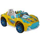 Dynacraft Baby Shark 6-Volt Super Car Ride-On