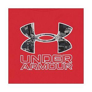 Toddler Boy Under Armour Splash Logo Tee & Shorts Set