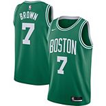 Men's Nike Jaylen Brown Kelly Green Boston Celtics 2020/21 Swingman Jersey - Icon Edition