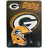The Northwest Company Green Bay Packers 60'' x 80'' State Pride Throw Blanket