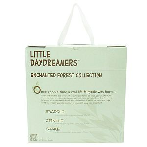 Animal Adventure Little Daydreamers Enchanted Forest Greenery Collection 3 - Piece Baby Gift Set