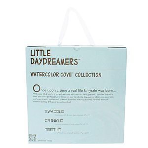 Animal Adventure Little Daydreamers Watercolor Cove Collection 3 - Piece Baby Gift Set