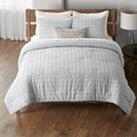 Sonoma Goods For Life® Lagos Tufted Comforter Set with Shams