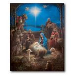 Courtside Market The Nativity Christmas Canvas Wall Art