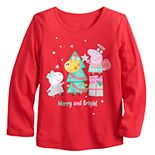 Toddler Girl Jumping Beans® Peppa Pig Merry & Bright Graphic Tee