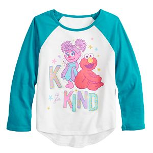 """Toddler Girl Jumping Beans® Sesame Street """"K Is For Kind"""" Graphic Tee"""