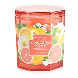 ScentWorx Pink Citrus Flower 14.5 oz Candle