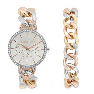 KENDALL & KYLIE Women's Watch & Bracelet Set