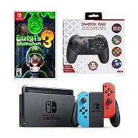 Deals on Nintendo Switch Luigi's Mansion 3 Game & Console Bundle