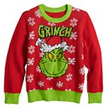 Boys 4-12 Jumping Beans® Dr. Seuss The Grinch Knit Holiday Sweater