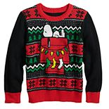 Boys 4-12 Jumping Beans® Peanuts Snoop Knit Holiday Sweater