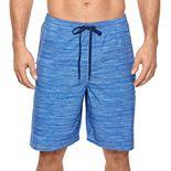 Men's Reebok Carson 4-Way Stretch 9-inch Volley Swim Shorts