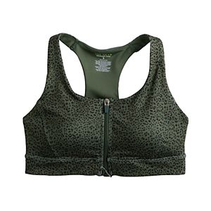 Tek Gear® Core Zip-Front Sports Bra