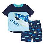Boys 4-20 Cuddl Duds® Top & Shorts Pajama Set