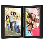 Americanflat Hinged Picture Frame with Shatter Resistant Glass
