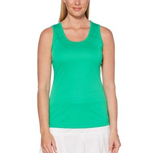 Women's Grand Slam Tennis Solid Tank Top