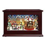 Mr. Christmas Christmas Music Box Table Decor