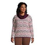 Plus Size Lands' End Lofty Cozy Cowlneck Sweater