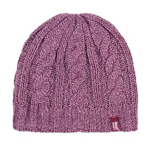 Women's Heat Holders Cable Knit Hat