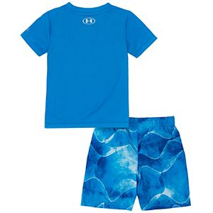 Toddler Boy Under Armour Soundwave Graphic Tee & Shorts