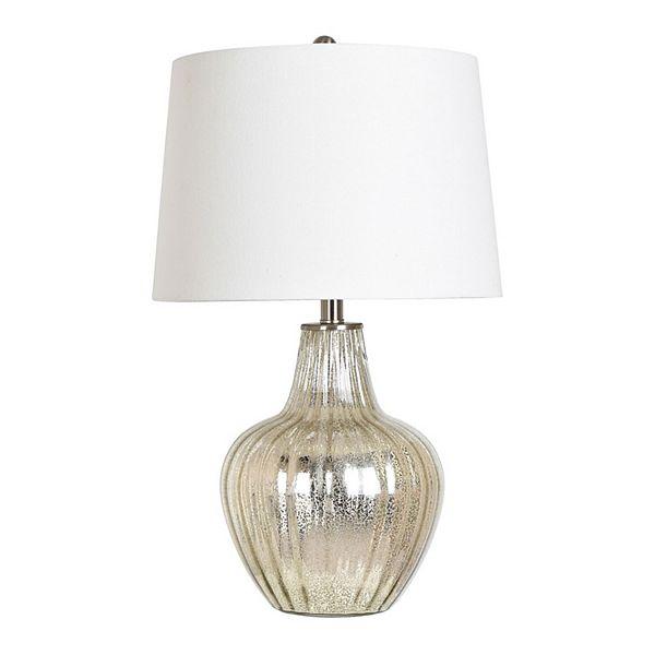 Mercury Glass Table Lamp - Multi