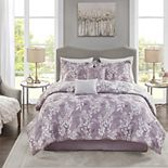 Madison Park Felicity 6-Piece Comforter Set With Coordinating Pillows